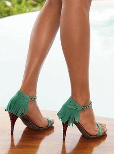 Victoria Secret Fringe Sandal
