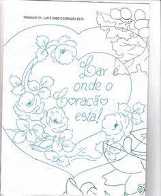 Art'sanália : Riscos de corações com flores para o dia das mães!