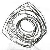 Donna D'aquino: Wire Bracelet #88. Steel