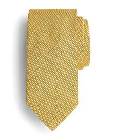 Textured Solid Tie | Brooks Brothers