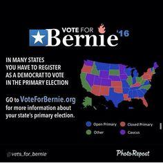 Bernie Sanders 2016! #FeelTheBern #BernieSanders #VoteBernie #Bernie2k16 #polls #caucus #HillaryClinton