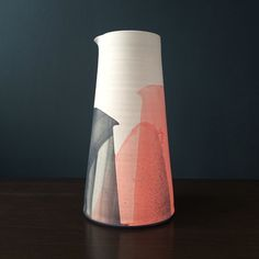 A large sculptural Jug Form by James and Tilla Waters.For the Summer 2015 Showcase Exhibition at Snug we were delighted to present an exquisite collection of works by James