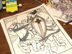 """""""Okay, these aren't necessarily just for adults – but I love to color and these really inspired me."""""""