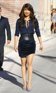 Priyanka Chopra?s Style Rules for Going Just the Right Amount of Sexy
