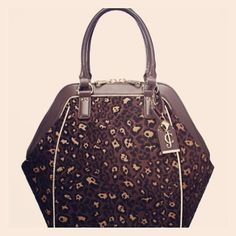 043cc2e10522 Juicy couture leopard jacquard handbag Brand new with tags (unattached).  Brand new look from juicy. Very hot bag. Not a tradable item