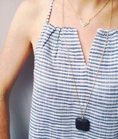 LAVA bead essential oil diffuser necklace, LAVA bead aromatherapy, Large black LAVA pendant
