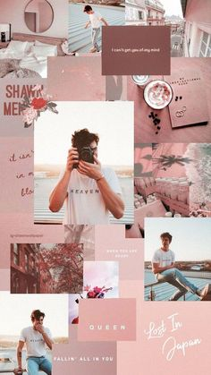 Listen to every Shawn Mendes track @ Iomoio Aesthetic Pastel Wallpaper, Aesthetic Backgrounds, Trendy Wallpaper, Aesthetic Wallpapers, Cute Wallpapers, Shawn Mendes Lockscreen, Shawn Mendes Wallpaper, Mode Collage, Aesthetic Collage