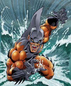 Tiger Shark -   SHARK WEEK: The Coolest Sharks in Comics! °°