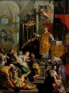 Pieter Paul Rubens, Miracolo di S. Ignazio di Loyola,1617, Kunsthistorisches Museum, Vienna