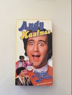 Andy Kaufman: The Midnight Special 1981 VHS by MsStreetUrchin
