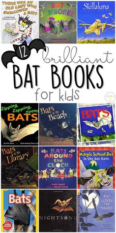 If you are planning a bat theme for your classroom or homeschool this fall, you'll definitely want to check out these great bat picture books! Lots of great titles and ideas for incorporating comprehension and writing skills too. Magic School Bus, Tot School, Best Books List, Book Lists, Reading Lists, Preschool Books, Forest School, Toddler Learning, Early Childhood Education