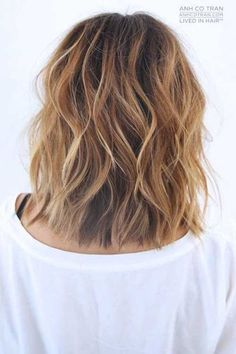 20 Nueva ondulada Peinados para pelo corto