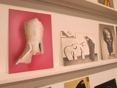 This painting of a sculptural fragment by German modernist artist Emy Roeder, a man puzzling over an abstract sculpture, and a portrait head by German artist Edwin Sharff are all meticulously paintings by Marti Cormand of artworks labeled 'degenerate' by the Nazis during WWII. Displaying the images as a series of 5 x 7 inch 'postcards' downplays their radicality but emphasizes the fact that their aesthetic has been wholly assimilated into contemporary art. (At Josee Bienvenu Gallery through…