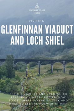 Visiting Glenfinnan Viaduct and Loch Shiel? See how to get there, how to park and how to ride the train to hogwarts! #thingstodoinscotland #harrypotterfilminglocations