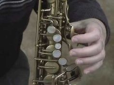Saxophone Finger Placement - YouTube