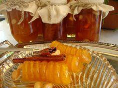 κολοκύθα γλυκό κουταλιού με αρίδα και όχι μόνο! ~ ΜΑΓΕΙΡΙΚΗ ΚΑΙ ΣΥΝΤΑΓΕΣ Fruit Jam, Greek Recipes, Preserves, Sweet Tooth, Deserts, Cooking Recipes, Herbs, Sweets, Homemade