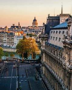 Rooftops of Paris by @davideor