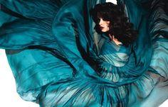 turquoise flow.