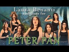 Laura Benanti Auditions for NBC's Peter Pan Live!