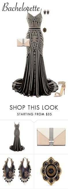 """""""Bachelorette"""" by angela-vitello on Polyvore featuring Nine West, Alexander McQueen, Gucci and Christian Louboutin"""