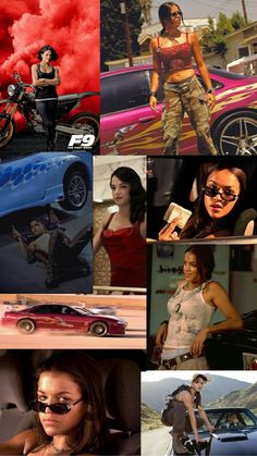 Letty Fast And Furious, Fast And Furious Actors, The Furious, Iphone Background Wallpaper, Cool Backgrounds, Dominic Toretto, Bad Girl Wallpaper, Street Racing Cars, Michelle Rodriguez