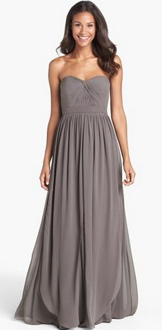 Pretty bridesmaid dress!
