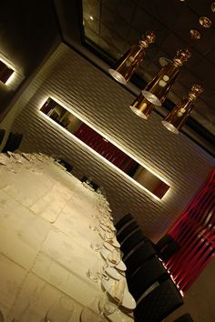 """Spains Restaurant Interior Design - Francisco Silván,  for people asian,  """"Tony's"""", in Madrid. 2012."""