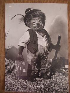 ALTE POSTKARTE GRUßKARTE IGEL MECKI 50er J, 1957, DIEHL, Stempel Bierglas, Marke | eBay