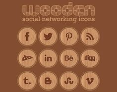 22 Fresh Social Media Icons (PSD & PNG) | Free and Useful Online Resources for Designers and Developers  #social #icons #circle #socialicons