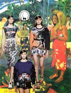 Aquilano Rimondi SS 2014 - Paul Gauguin references
