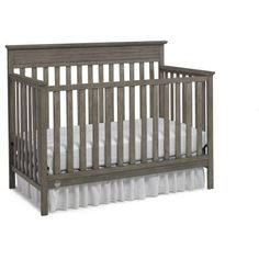 Fisher-Price Newbury 4-in-1 Convertible Crib Vintage Gray | Jet.com