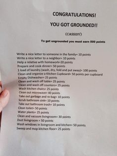 My friend got grounded and the next day her mom gave her this.