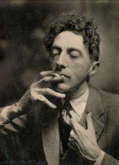Jean Cocteau, 1939, photo by Laure Albin Guillot