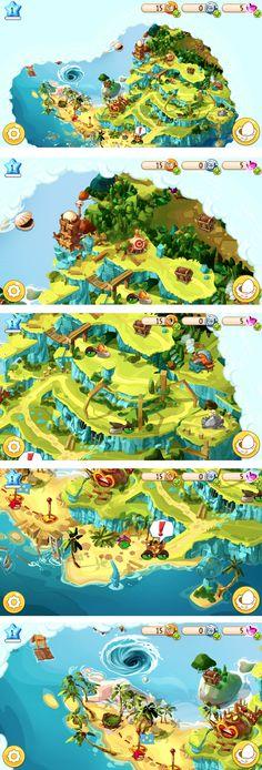 2D (game): geen sprake van diepte in de gameplay en graphics.
