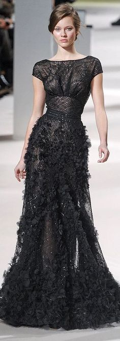Love this Elie Saab -- can't wear black though. maybe in navy or ??