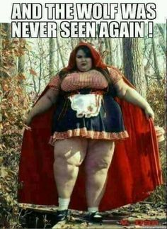The wolf was never seen again funny red riding hood meme Funny Shit, Funny Posts, Funny Quotes, Funny Memes, Jokes, Tgif Funny, Twisted Humor, Red Riding Hood, Adult Humor