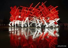 Coca-Cola Pavilion For The London Olympics designed by Asif Khan & Pernilla Ohrstedt | Afflante.com