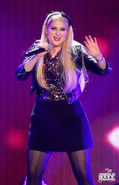 Meghan Trainor onstage during 103.5 KISS FM's Jingle Ball 2014 at Allstate Arena on December 18, 2014 in Chicago, IL. (Photo: Getty Images for iHeartRadio)