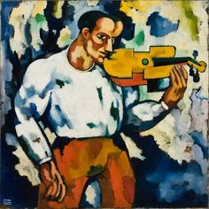 Amadeo de Souza Cardoso: The Slow-Burning Modernist, Painting Wallpaper, Painting & Drawing, Palais Galliera, Modernisme, Amazing Paintings, Abstract Painters, Paint Designs, Sculpture, Figurative Art