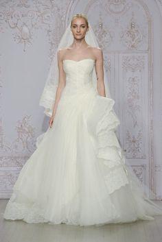 Trendy Wedding Dresses  :    statement ruffles  - #Dress https://youfashion.net/wedding/dress/trendy-wedding-dresses-statement-ruffles/