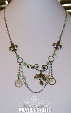 'Forrest Dream' Necklace by MMDesigns.