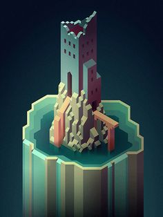 Isometric Illustrations on Behance