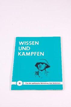 """DDR Museum - Museum: Objektdatenbank - Buch """"Wissen und Kämpfen"""" Beitragsmarken """"DTSB"""" Copyright: DDR Museum, Berlin. Eine kommerzielle Nutzung des Bildes ist nicht erlaubt, but feel free to repin it!"""
