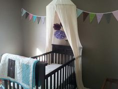 easy diy.  Could make the banner out of scrapbook paper.