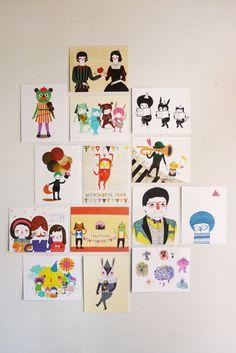 Minifanfan Illustration