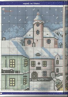 rozárka špecial 1/2010 Plastic Canvas, Cathedral, Cross Stitch, Punto De Cruz, Seed Stitch, Cathedrals, Cross Stitches, Crossstitch, Punto Croce
