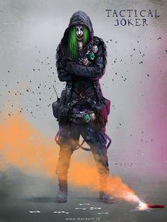 Joker, Mack Sztaba on ArtStation at https://www.artstation.com/artwork/joker-90406128-8a3c-4ae2-903b-01f3f79a453c