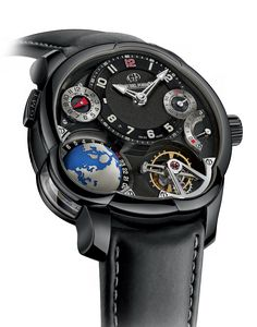Had this piece of incredible art in my hand at Greubel & Forsey, GMT Black | Greubel Forsey