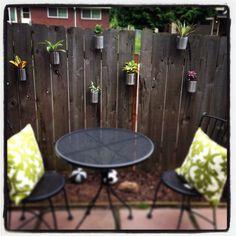 Backyard Fence Garden