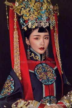 ฮองเฮา Oriental Fashion, Ethnic Fashion, Asian Fashion, Traditional Fashion, Traditional Dresses, Traditional Chinese, Geisha, Dynasty Clothing, 3d Foto